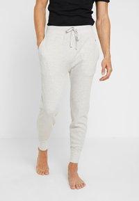 Polo Ralph Lauren - PANT SLEEP BOTTOM - Pyjama bottoms - brooklyn heather navy pp - 0