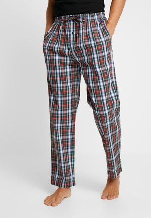 Pantalón de pijama - dark green/red