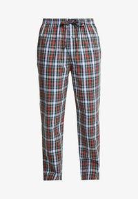 Polo Ralph Lauren - Pantalón de pijama - dark green/red - 3