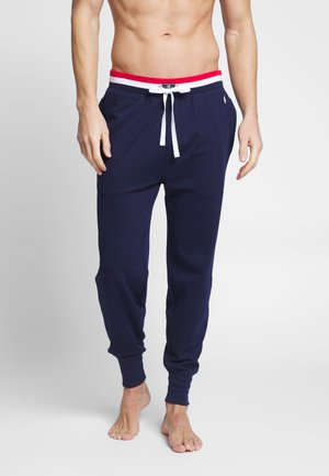LOOP BACK - Pyjama bottoms - cruse navy
