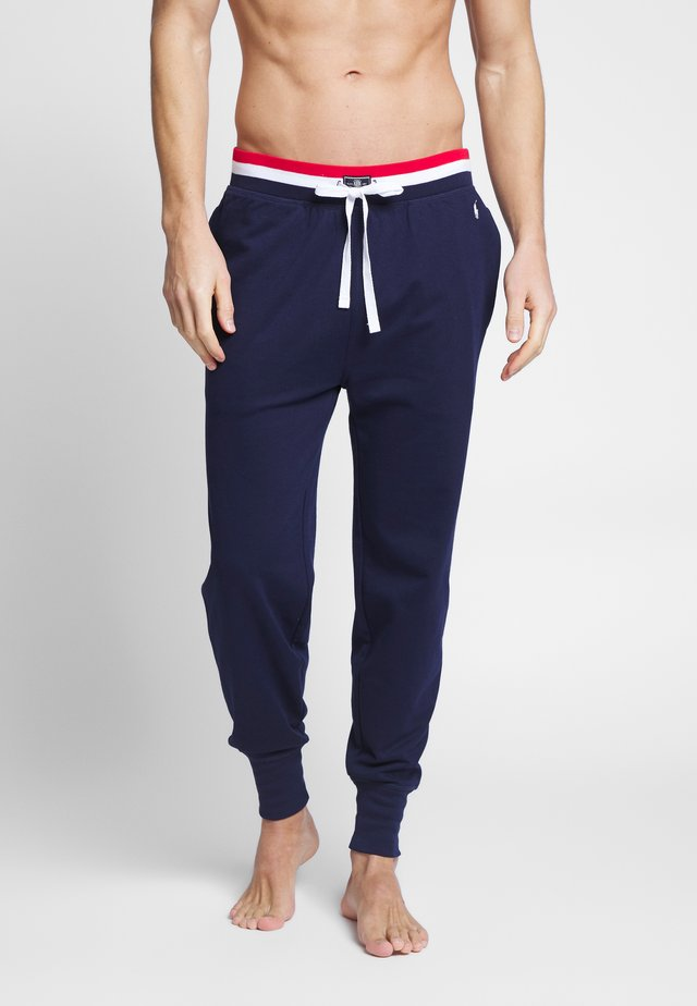 LOOP BACK - Pantaloni del pigiama - cruse navy
