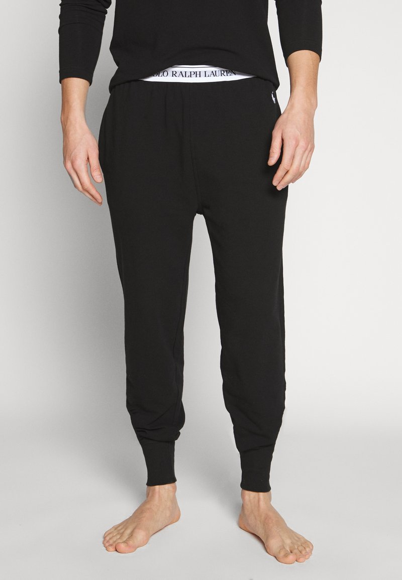 Polo Ralph Lauren - Pyjama bottoms - black/white