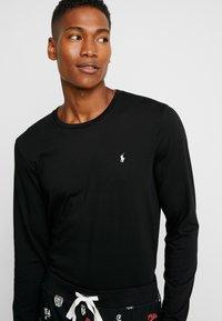 Polo Ralph Lauren - LIQUID SET - Pigiama - black - 3