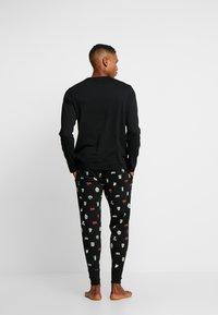 Polo Ralph Lauren - LIQUID SET - Pigiama - black - 2