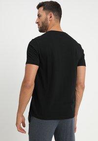 Polo Ralph Lauren - LIQUID - Camiseta de pijama - black - 2