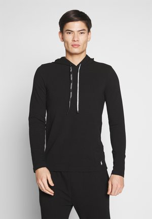 Bluza z kapturem - polo black