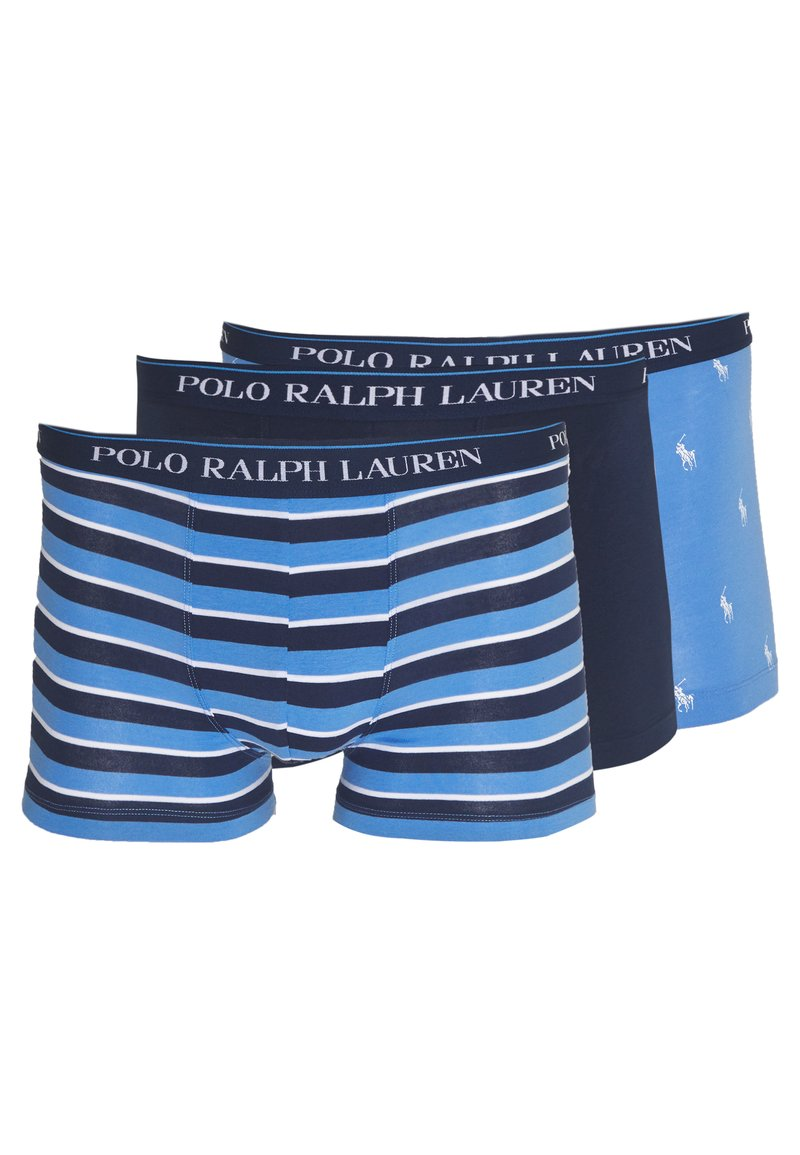 Polo Ralph Lauren - TRUNK 3 PACK - Boxerky - navy/blue