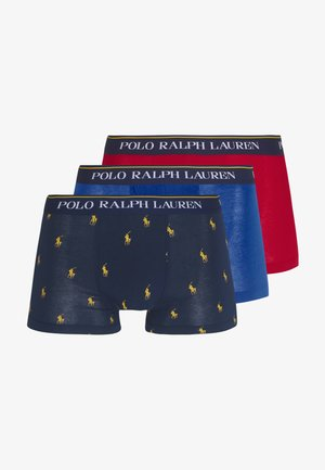 TRUNK 3 PACK - Boxerky - blue/dark blue/red
