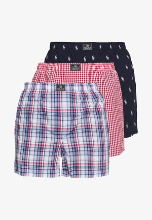 3 PACK - Boxer shorts - navy/red/dark blue