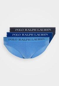 Polo Ralph Lauren - LOW RISE 3 PACK - Figi - navy/saphir star/bermuda blu - 4