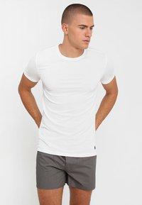 Polo Ralph Lauren - 3 PACK - Undershirt - white/black/anthracite - 3