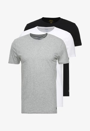 3 PACK - Undershirt - white/black/anthracite