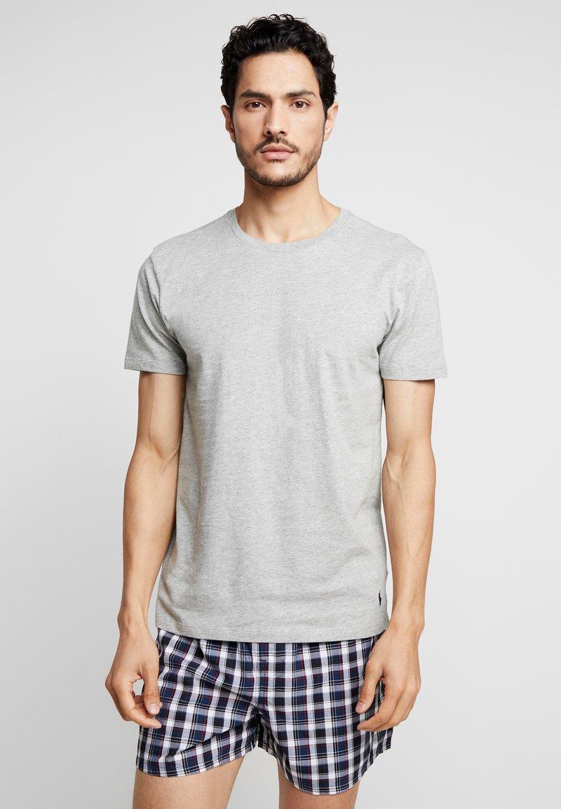 Polo Ralph Lauren - 3 PACK - Undershirt - dark blue/mottled grey/khaki
