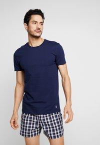 Polo Ralph Lauren - 3 PACK - Undershirt - dark blue/mottled grey/khaki - 1