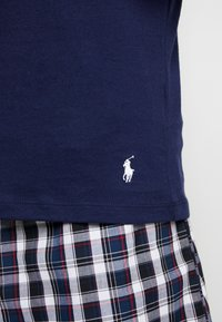 Polo Ralph Lauren - 3 PACK - Undershirt - dark blue/mottled grey/khaki - 5