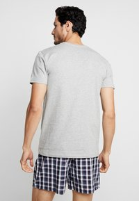 Polo Ralph Lauren - 3 PACK - Undershirt - dark blue/mottled grey/khaki - 2