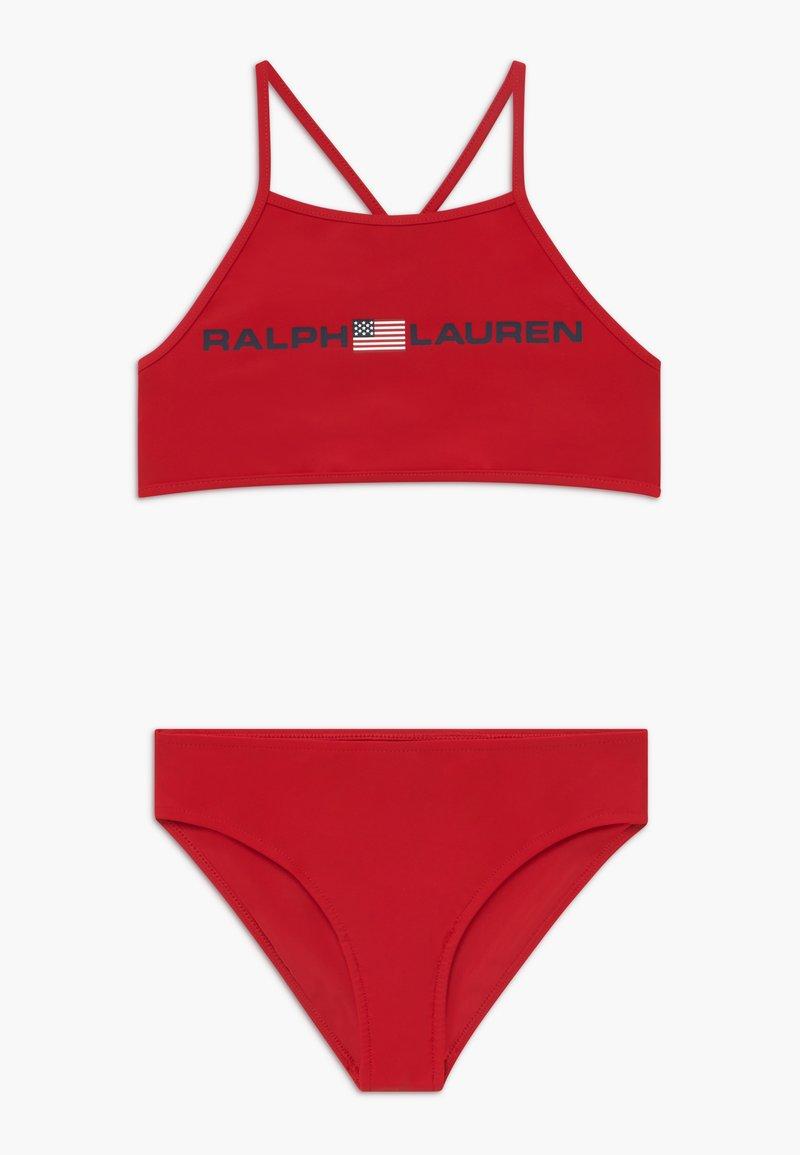 Polo Ralph Lauren - SOLID  SET - Bikini - red