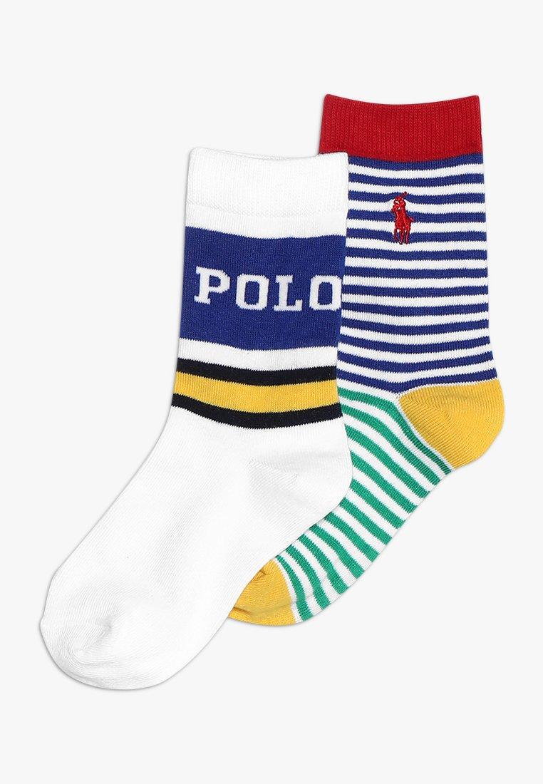 Polo Ralph Lauren - NEWPORT 2 PACK - Skarpety - white