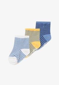 Polo Ralph Lauren - CREW 3 PACK - Sokken - green /yellow/blue - 2