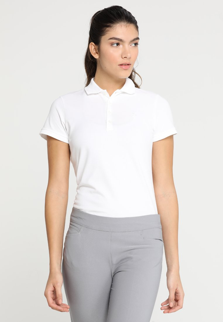 Polo Ralph Lauren Golf - KATE SHORT SLEEVE - Polo shirt - pure white