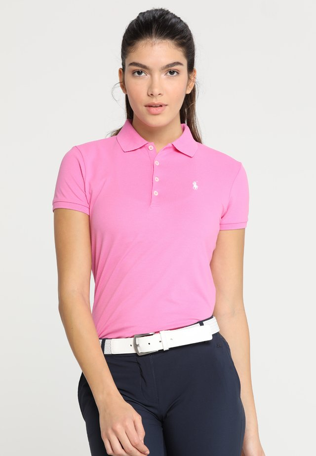 KATE SHORT SLEEVE - Koszulka polo - maui pink