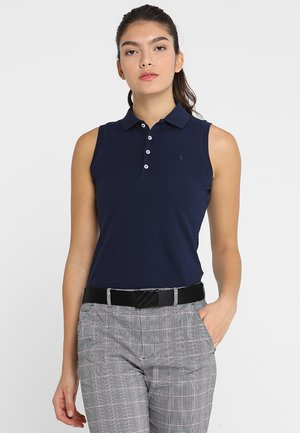 STRETCH VISDRY - Polo - french navy