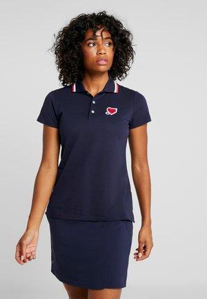 SHORT SLEEVE - T-shirt sportiva - french navy