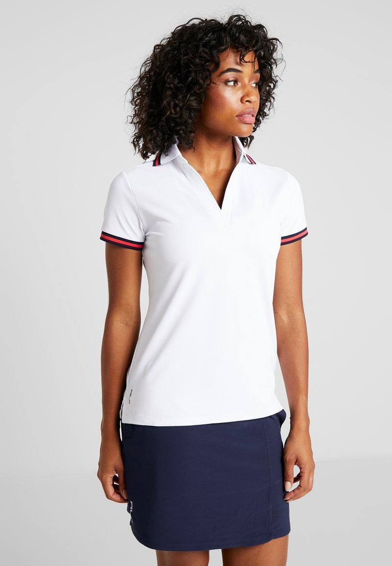 Polo Ralph Lauren Golf - VNECK SHORT SLEEVE - T-Shirt basic - pure white