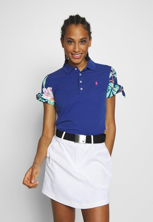 BOW SHORT SLEEVE - Polo shirt - royal navy