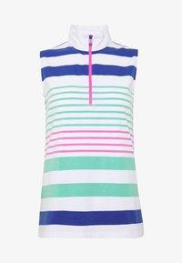 Polo Ralph Lauren Golf - ZIP SLEEVELESS - Top - white/red - 5