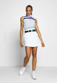 Polo Ralph Lauren Golf - ZIP SLEEVELESS - Top - white/red - 1