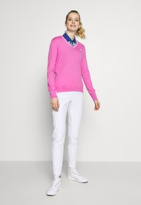 Polo Ralph Lauren Golf - EAGLE ATHLETIC PANT - Kalhoty - pure white - 1