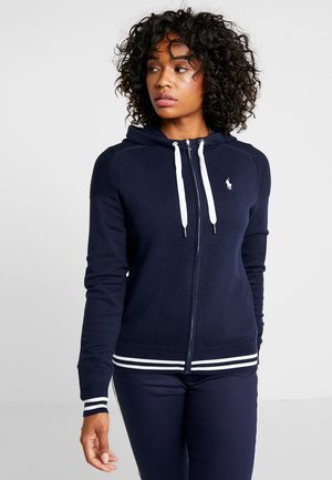 FULL ZIP LONG SLEEVE - Sudadera con cremallera - french navy