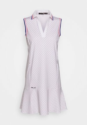 PRINT SLEEVELESS CASUAL DRESS - Robe de sport - white