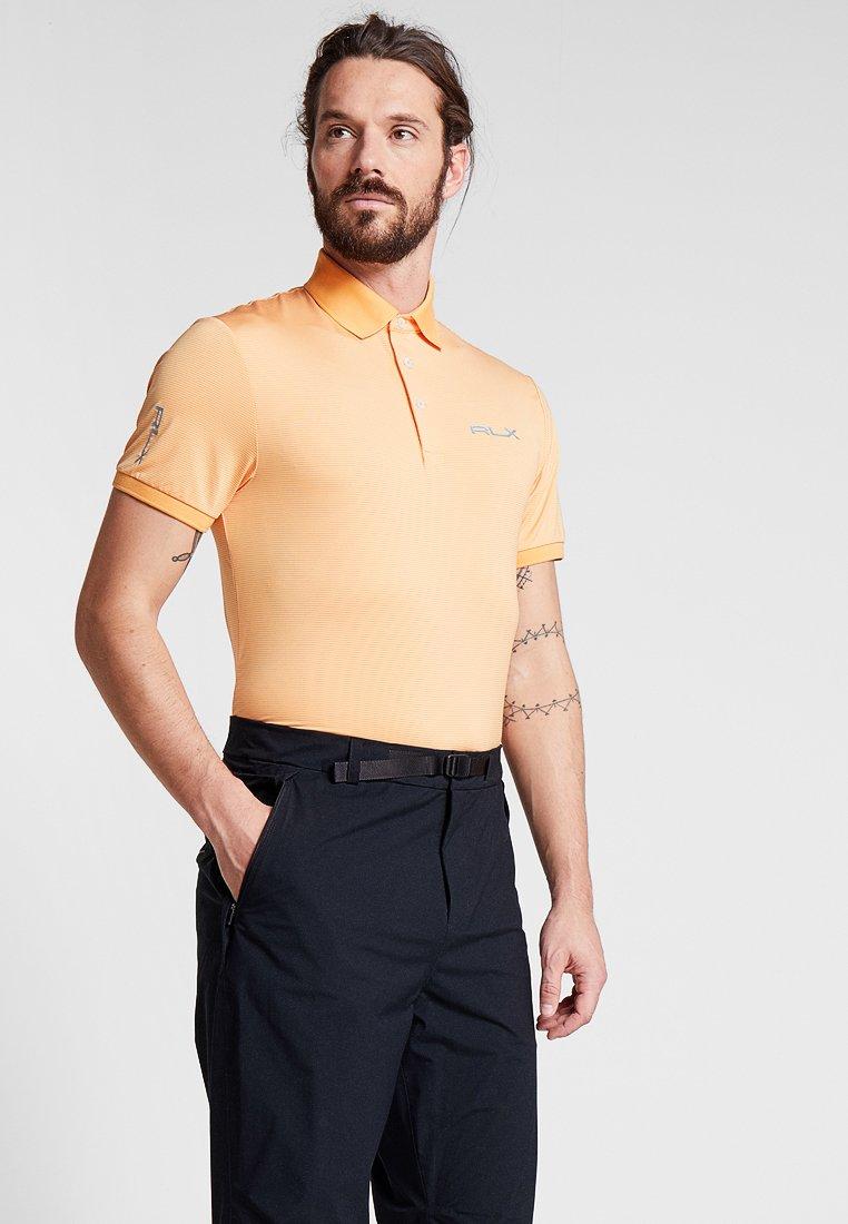 Polo Ralph Lauren Golf - Tekninen urheilupaita - poppy/pure white