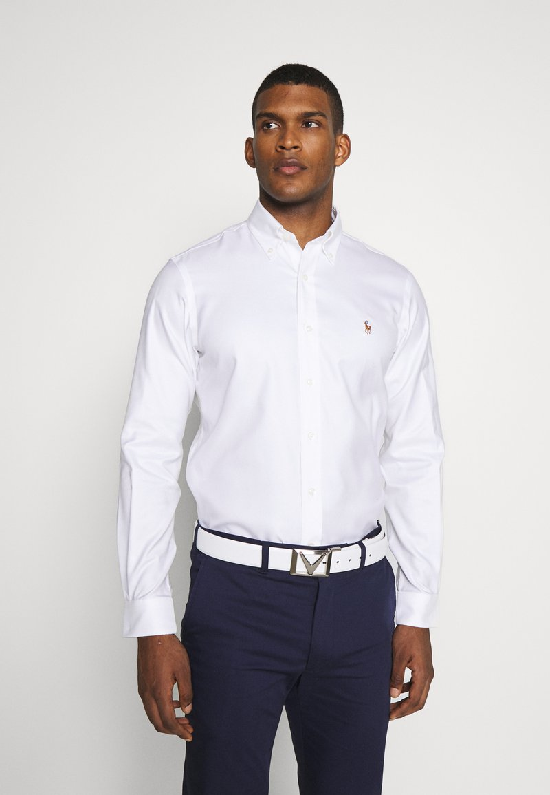 Polo Ralph Lauren Golf - LONG SLEEVE  - Skjorter - white