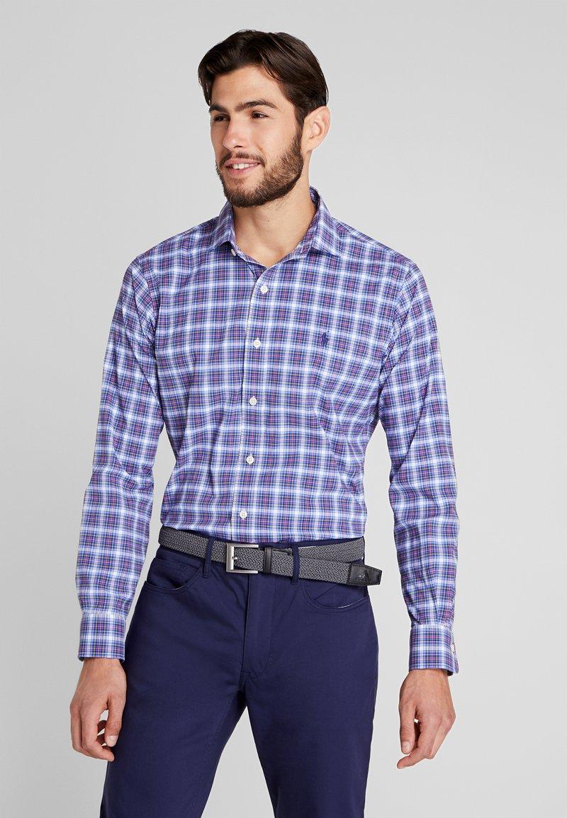 Polo Ralph Lauren Golf - LONG SLEEVE SPORT  - Košile - indigo sky/red multi