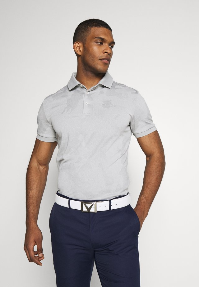 SHORT SLEEVE - Koszulka polo - grey