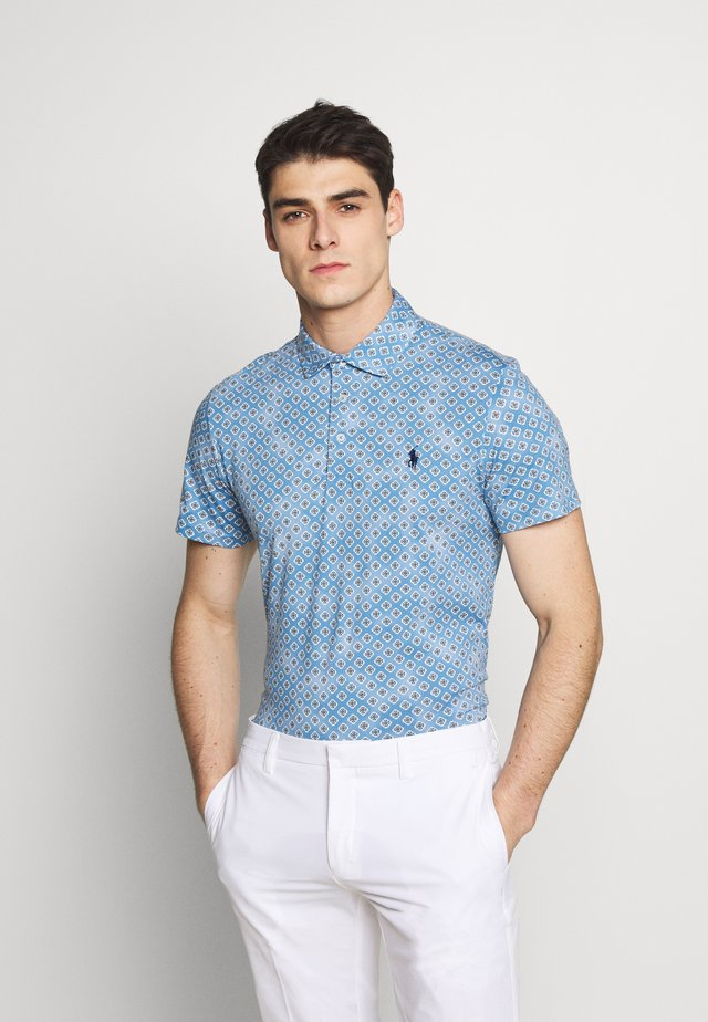 SHORT SLEEVE - Polo - powder blue provencals