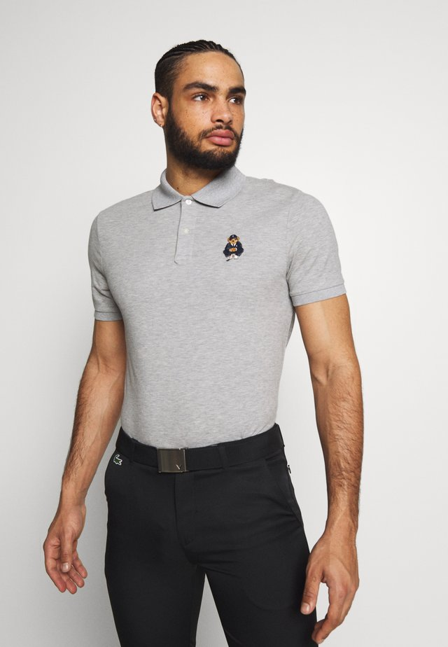 BEAR SHORT SLEEVE - T-shirt sportiva - light grey heather