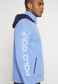 Polo Ralph Lauren Golf - HOOD ANORAK JACKET - Sportovní bunda - blue mist - 5