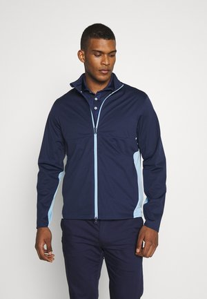 STRATUS UNLINED JACKET - Regnjacka - french navy/powder blue