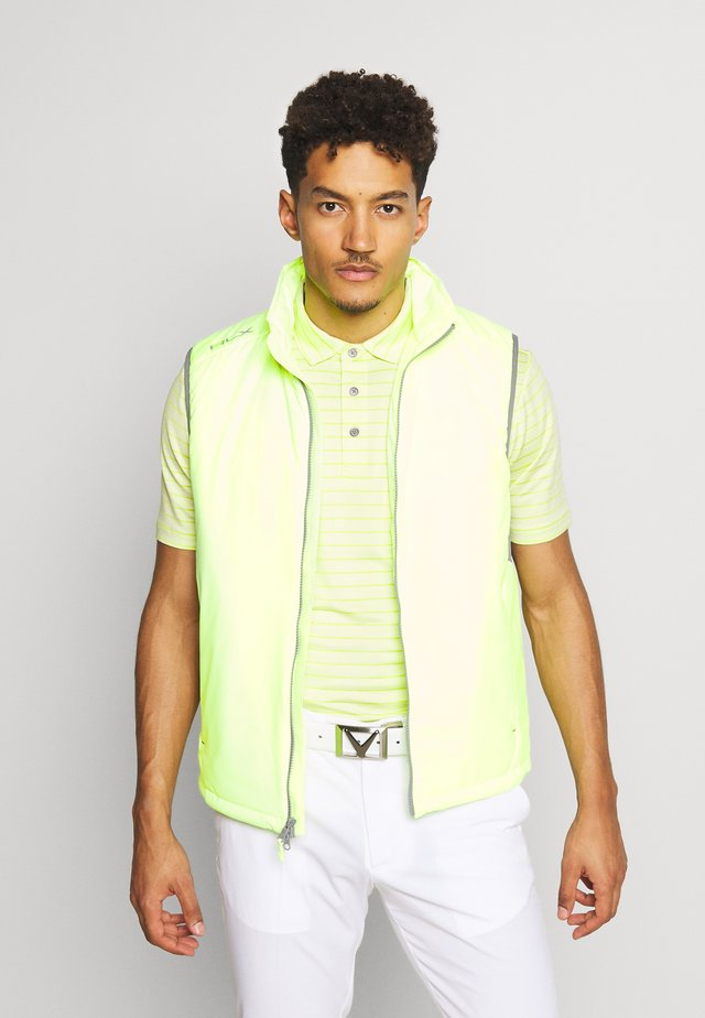 GRAVITY VEST - Bodywarmer - lime quartz