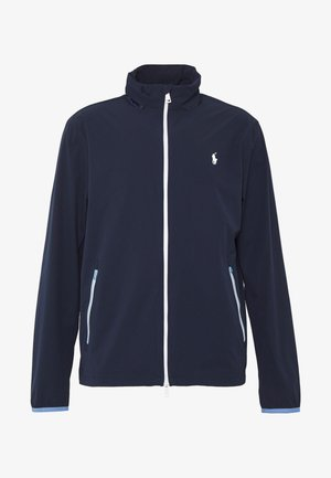 HOOD ANORAK JACKET - Veste imperméable - french navy