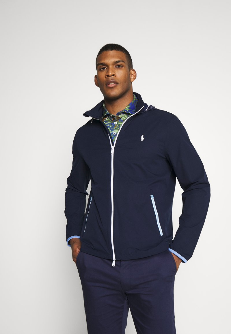Polo Ralph Lauren Golf - HOOD ANORAK JACKET - Veste imperméable - french navy