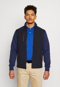 Polo Ralph Lauren Golf - LONG SLEEVE - Outdoorová bunda - french navy - 0