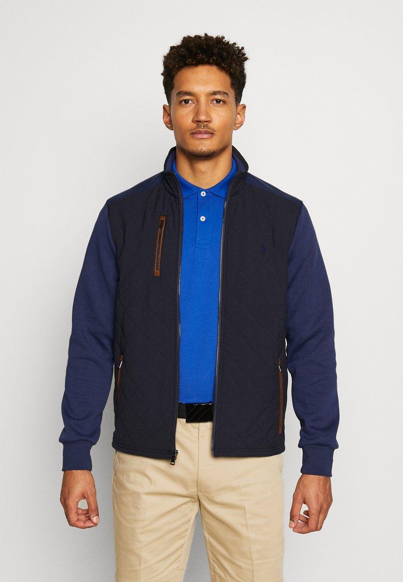 Polo Ralph Lauren Golf - LONG SLEEVE - Outdoorová bunda - french navy