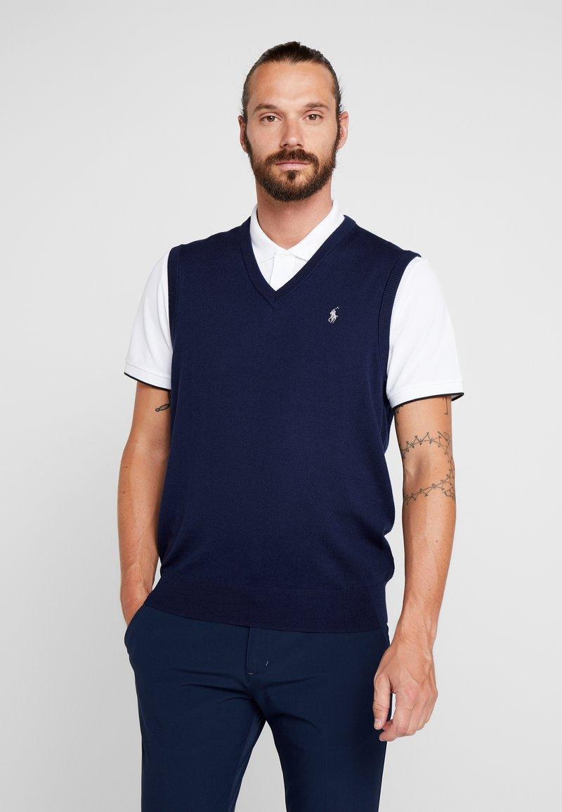Polo Ralph Lauren Golf - VEST SLEEVELESS - Stickad tröja - french navy