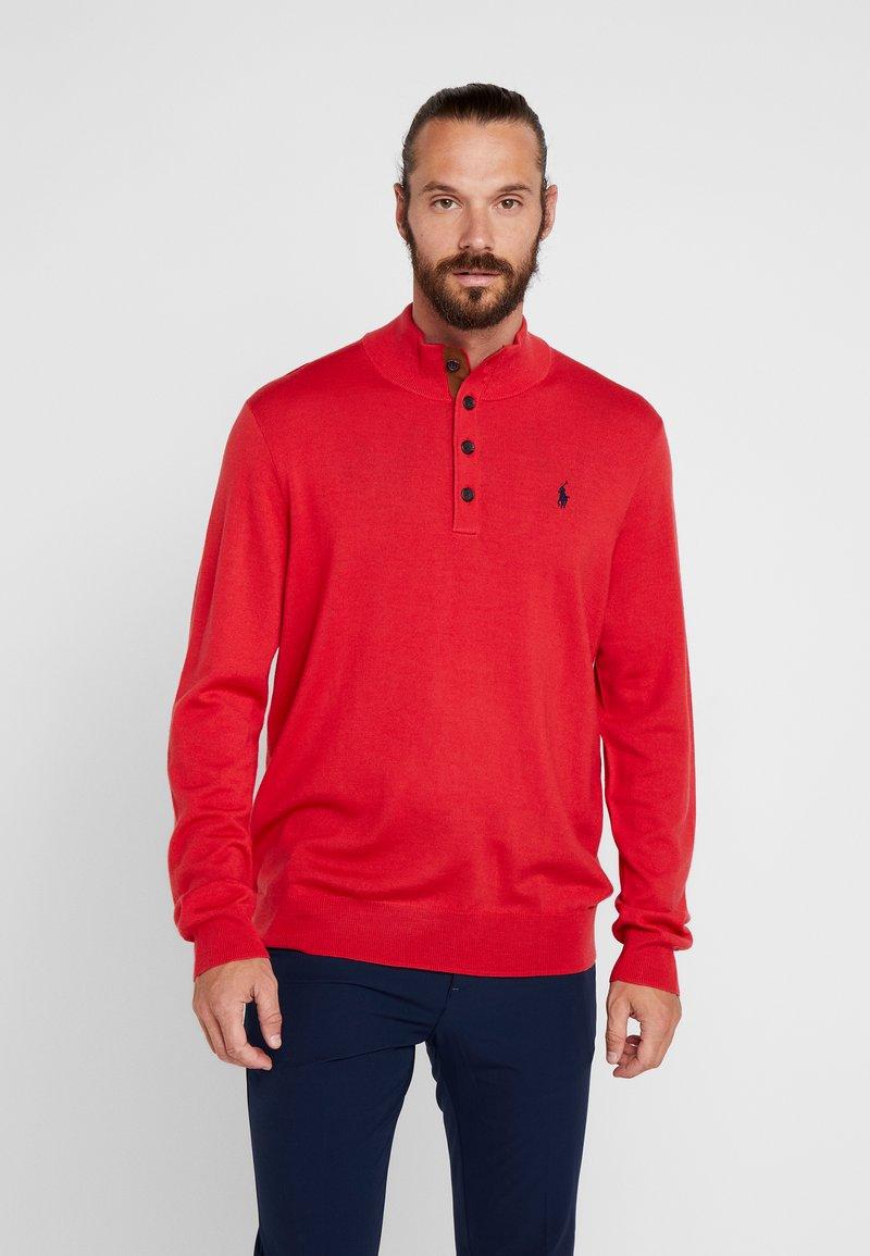 Polo Ralph Lauren Golf - LONG SLEEVE - Neule - deep orangey red
