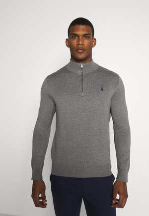 LONG SLEEVE - Svetr - boulder grey heather